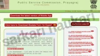 UPPSC Recruitment 2021: Notification Released For 3620 Vacancies. Selected Candidates to Get Hefty Salary Upto Rs 2 Lakh