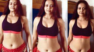 Devoleena Bhattacharjee ऊर्फ 'गोपी बहू' का बेली डांस देख फैंस हुए हैरान, जमकर वायरल हो रहा है वीडियो