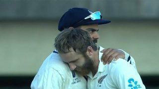 E'PIC! Kohli Hugging Williamson Moment After WTC Final Wins Internet