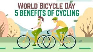 World Bicycle Day 2021: Top 5 Health Benefits of Cycling | Why Cycling Helps in Weight Loss