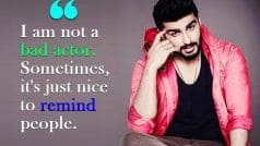 Arjun Kapoor In The Weekend Interview: I Am Not A Bad Actor | Exclusive