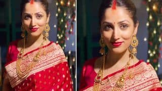 Yami Gautam Post-Wedding Picture: Actor Shares Her Drool-worthy Picture in Gorgeous Red Saree And Sindoor