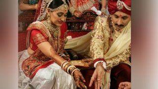 'Taarak Mehta...'दुल्हन के जोड़े में बेहिसाब खूबसूरत लगीं 'दयाबेन' Disha Vakani, लोग बोलें- वापस आ जाओ ना...