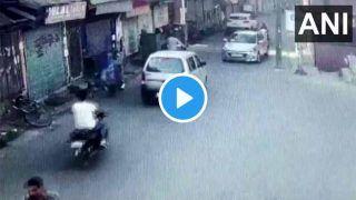ViDEO: CCTV Footage में कैद हुआ आतंकियों का ग्रेनेड अटैक, निशाने पर थी CRPF टीम