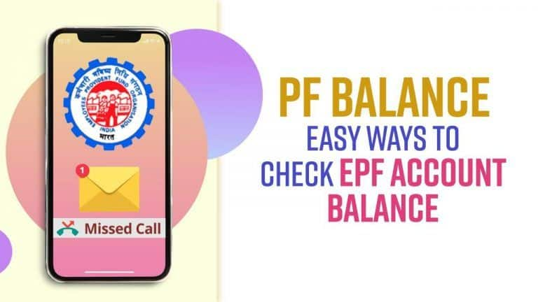 How to Check EPF Account Balance Online, via SMS And Missed Call | Step-by-Step Process Explained