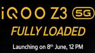 iQOO Z3 5G India Launch Today: जानें संभावित कीमत से लेकर फीचर्स तक सबकुछ