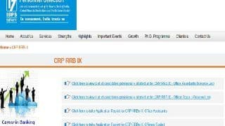 IBPS CRP RRB Reserve List 2021 Released for Office Assistant & Office Scale 1 At ibps.in