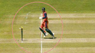 Netherlands vs Ireland, 1st ODI: बल्लेबाज से हुई भारी भूल, इस गलती की वजह से गंवाया विकेट