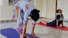 Yoga International Day: Kangana Ranaut ने बताई कहानी, योग से कैसे रूकी मां की हार्ट सर्जरी और फिर...