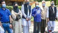 Live: कश्मीर पर पीएम मोदी के आवास पर सर्वदलीय बैठक शुरू, महबूबा, फारूक अब्दुल्ला सहित कई नेता मौजूद