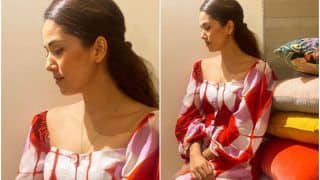 Mira Rajput Goes Easy-Breezy in a Pretty Red Dress Worth Rs 7,690, Have You Seen it Yet?