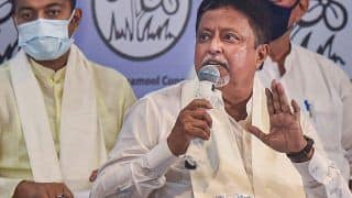 TMC Leader Mukul Roy's  'Y+' Category Security Withdrawn by MHA