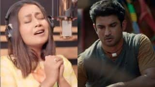 Neha Kakkar Pays Tribute To Sushant Singh Rajput As She Melodiously Sings 'Jaan Nisar' | WATCH