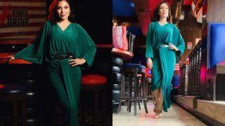 Taarak Mehta Ka Ooltah Chashmah Actor Babita Aka Munmun Dutta Walks Ramp in Hot And Sexy Green Dress – Watch
