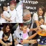 Nisha Rawal Throws Birthday Bash For Son Kavish Amid Domestic Dispute With Karan Mehra, See Pics from Party