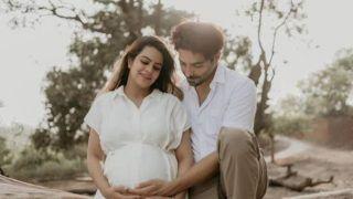 Aparshakti Khurrana-Aakriti Ahuja Maternity Photoshoot: Couple Cradles Baby Bump In Latest Photo