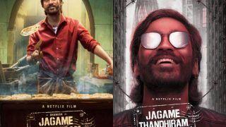 Dhanush की गैंगस्टर ड्रामा 'Jagame Thandhiram' का ट्रेलर रिलीज, वर्ल्ड लेवल माफिया से होगा सामना-VIDEO
