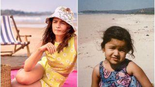 Alia Bhatt Shares Her Then-And-Now Pictures From Beach, Mumma Soni Razdan Says 'Awww baby'
