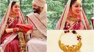 Yami Gautam's Bridal Look: Red Silk Saree, Traditional Pahadi Nath, And a Lot of Grace