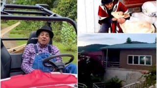Inside Dharmendra's Lonavala Farmhouse: Quad Bike, Giant Swimming Pool With Peace And Greenery All Over