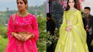 Yami Gautam's Sister Surilie Gautam Wears Same Sabyasachi Lehenga as Alia Bhatt But in Different Colour, Check Price
