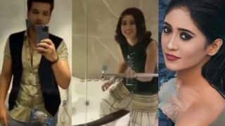 Yeh Rishta Kya Kehlata Hai: Shivangi Joshi थीं बाथरूम में! तभी घुस आए Karan Kundra और... VIDEO VIRAL