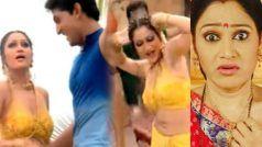 Taarak Mehta...की दयाबेन का बोल्ड अवतार हुआ वायरल, Disha Vakani ने बैकलेस चोली पहनकर...VIDEO