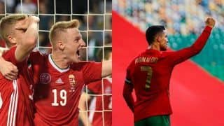 Match Highlights HUN vs POR Updates Euro 2020: Cristiano Ronaldo Scores Brace as Portugal Start Title Defence With Win Over Hungary