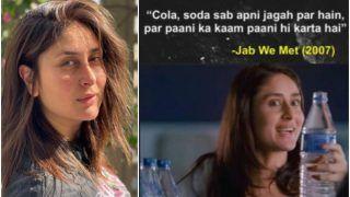 Kareena Kapoor Khan Recalls Jab We Met Dialogue After Cristiano Ronaldo Opted For Water Over Cola