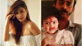 Rhea Chakraborty Pens Emotional Note For Her Dad On Father's Day, Calls Herself Fauji Ki Beti
