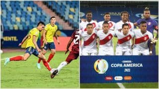 Colombia vs Peru Live Streaming Copa America 2021: When And Where to Watch COL vs PER Live Stream Football Match Online and on TV