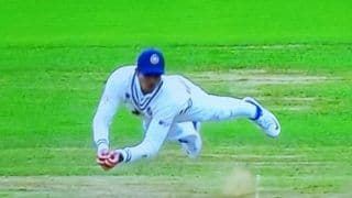 WTC Final: Shubman Gill Takes a Stunning Catch to Send Ross Taylor Back in Pavilion | WATCH VIDEO