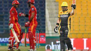 Match Highlights Islamabad United vs Peshawar Zalmi Updates PSL 2021: Zazai, Wells Shine as Peshawar Set Up Summit Clash Against Multan Sultans