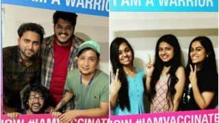 Indian Idol 12 Contestants Pawandeep Rajan, Arunita Kanjilal And Others Get COVID-19 Vaccine | See Pics