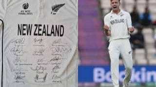 Tim Southee Puts WTC Final Jersey on Auction to Raise Funds For 8-year-old's Treatment