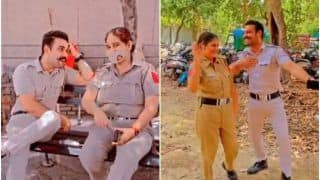Bit Harsh! 2 Delhi Cops Face Action For Having a Little Fun While At Work | Watch Viral Video
