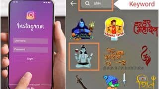 Instagram Sticker Shows Lord Shiva Holding Wine Glass & Phone, FIR Filed For Hurting Hindu Sentiments