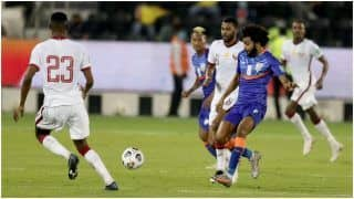 FIFA World Cup/AFC Asian Cup Qualifiers: 10-Men India go Down to Qatar by 1-0