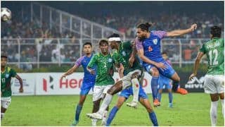 Highlights IND vs BAN Updates AFC Asian/FIFA World Cup Qualifiers: Captain Fantastic Slays Bangla Tigers, India Wins 2-0