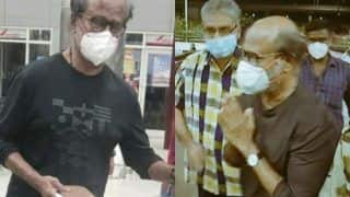 Rajinikanth Heads To US With Wife Lathaa For General Health Check-Up | See Viral Photos