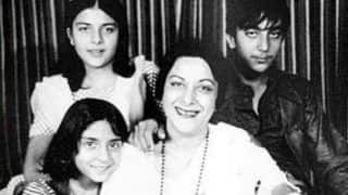 Nargis Dutt's Birth Anniversary: Sanjay Dutt Remembers Legendary Actor And Mother With Priceless Photos