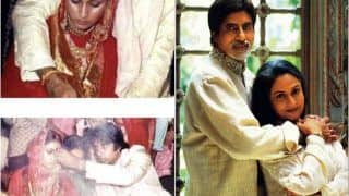 Amitabh Bachchan Shares Priceless Wedding Pictures With Jaya Bachchan as They Complete 48 Years