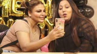 Rakhi Sawant Shows Husband Ritesh's Photo to Her Choreographer at 'Dream Mein Entry' Success Party