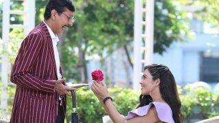'Taarak Mehta...' के Popatlal की लग गई लॉटरी, Soni Patel ने फूल देकर किया प्रपोज़