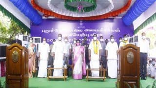 5 Ministers, Including First Woman in Decades, Take Oath in Puducherry Cabinet; PM Sends Best Wishes