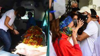पति राज कौशल की अचानक मौत से टूटी मंदिरा बेदी, हुमा कुरैशी समेत कई सितारे अंतिम संस्कार में हुए शामिल
