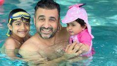 Shilpa Shetty की बेटी ने इस तस्वीर में चार-चांद लगाए, बहुत प्यारी है ये गुड़िया