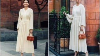 Sonam Kapoor's Rs 1.8 Lakh Bag is so Tiny That Only Your Fingers Can Fit