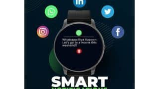 Syska Bolt SW200 Smartwatch Launched in India Check Price With SpO2 Monitoring, Hand Sanitisation Reminder, and More