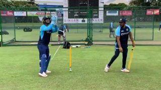 India tour of Sri Lanka: श्रीलंका में भारतीय क्रिकेट टीम का अभ्यास जारी